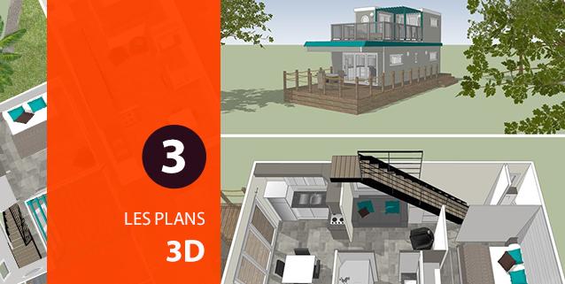 Modélisation 3D de mobil-home
