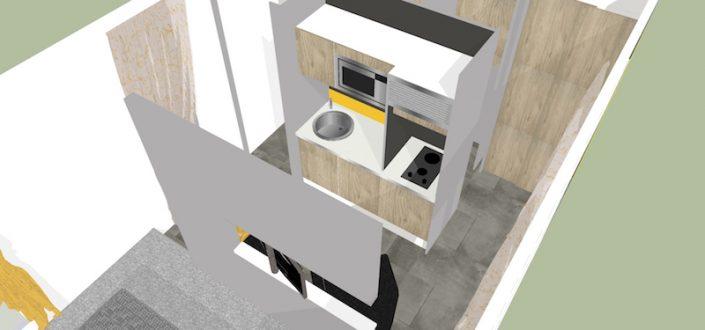Fabrication d'une suite hotelière